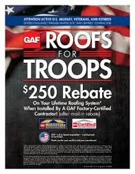 Roof for troops